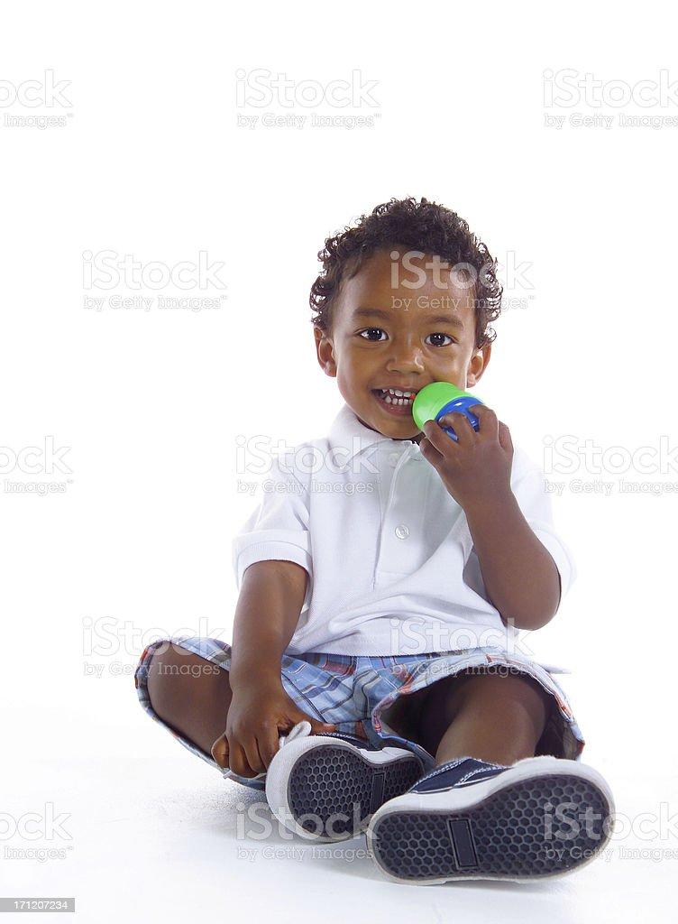 sweet little boy royalty-free stock photo