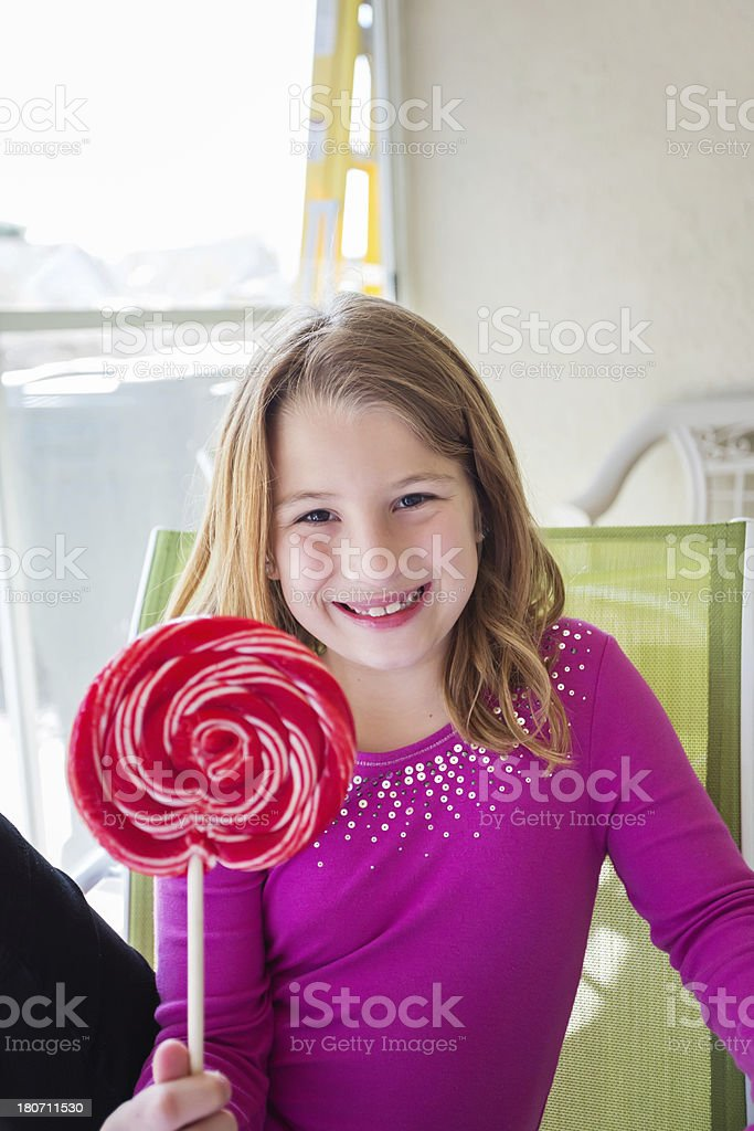Sweet little girl royalty-free stock photo