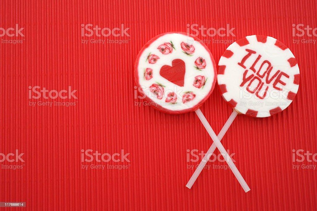 Sweet Lollipops royalty-free stock photo