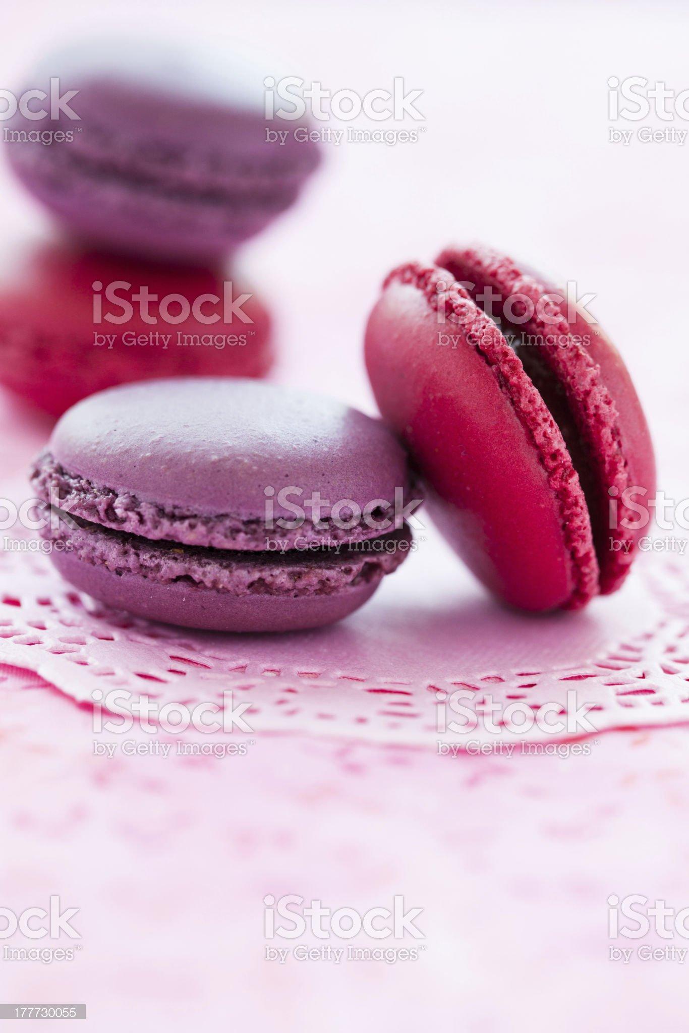 Sweet macaroons royalty-free stock photo