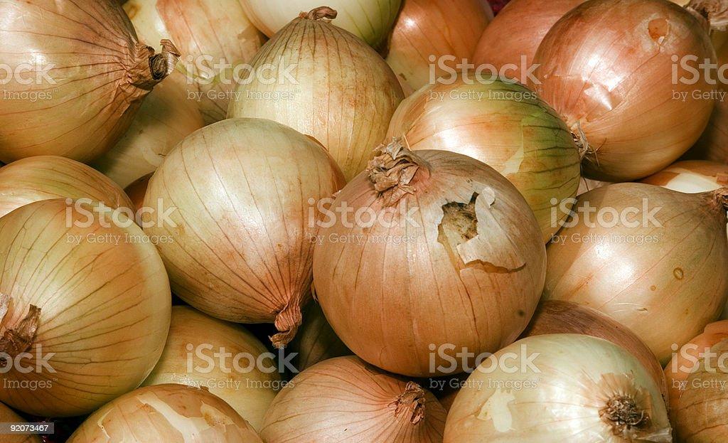 Sweet Maui Onions royalty-free stock photo