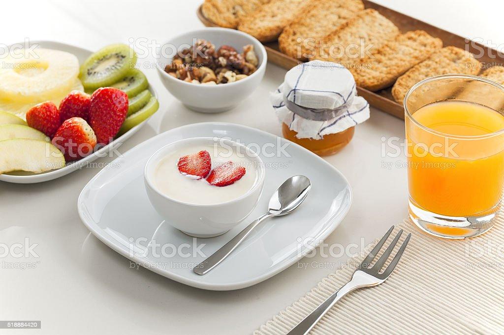 Sweet morning stock photo