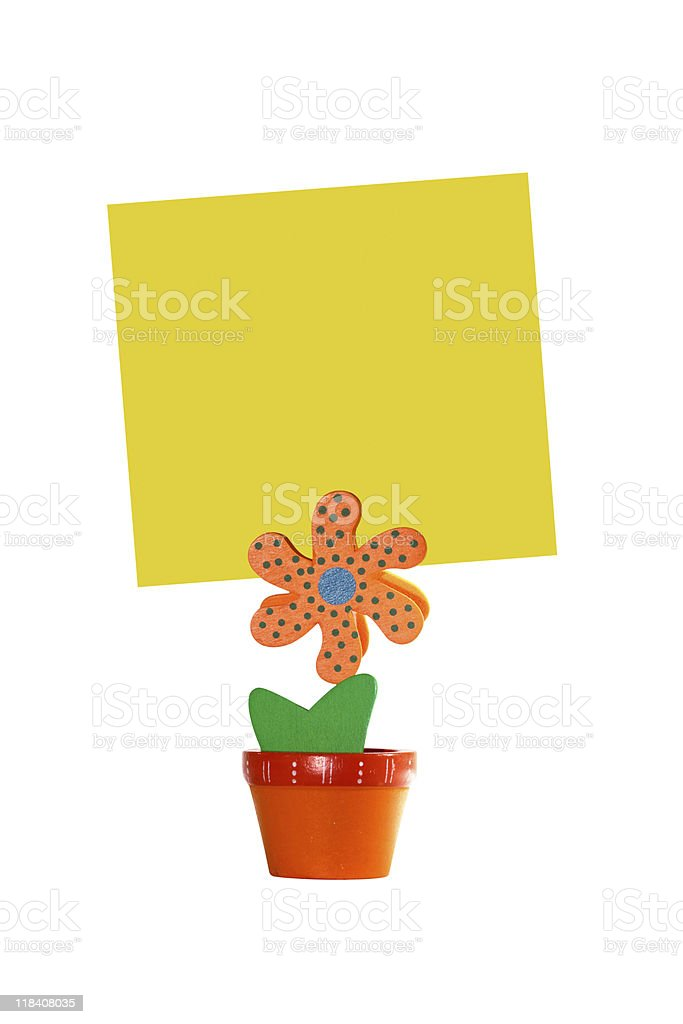 Sweet note stock photo