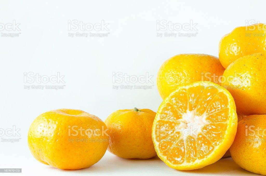 sweet orange royalty-free stock photo