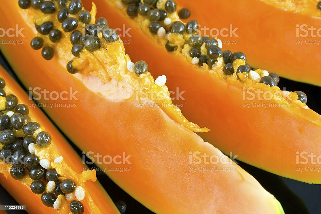 sweet papaya royalty-free stock photo