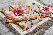 Sweet pastry buns danish