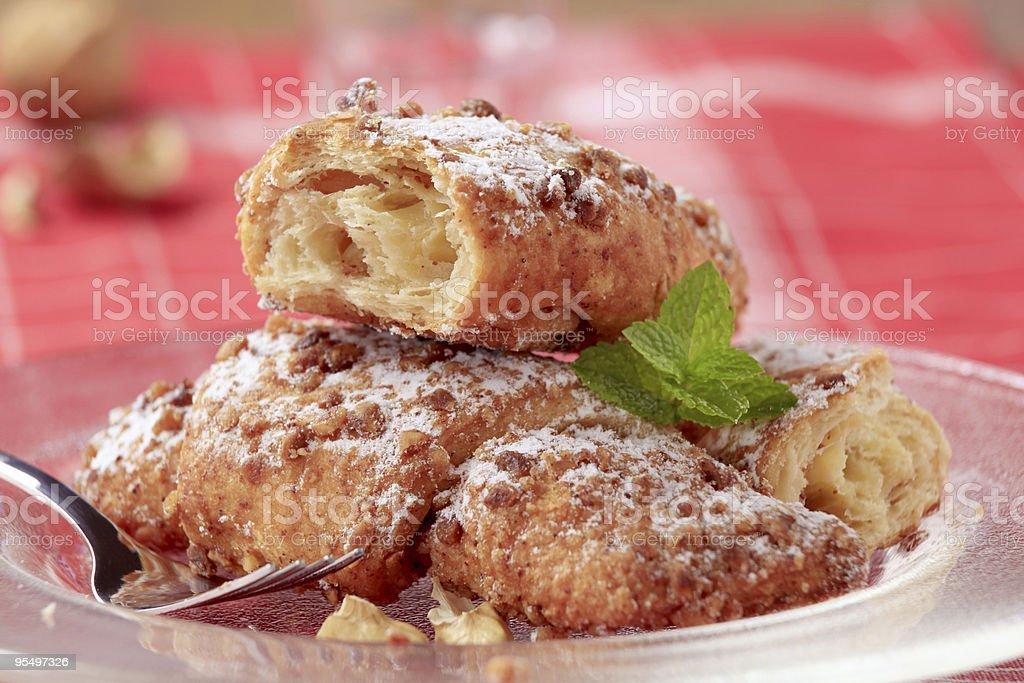 Сладкий Пирог крема Стоковые фото Стоковая фотография