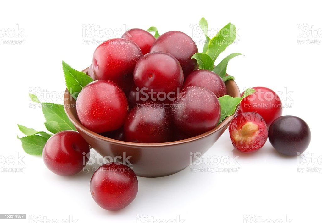 Sweet plums royalty-free stock photo