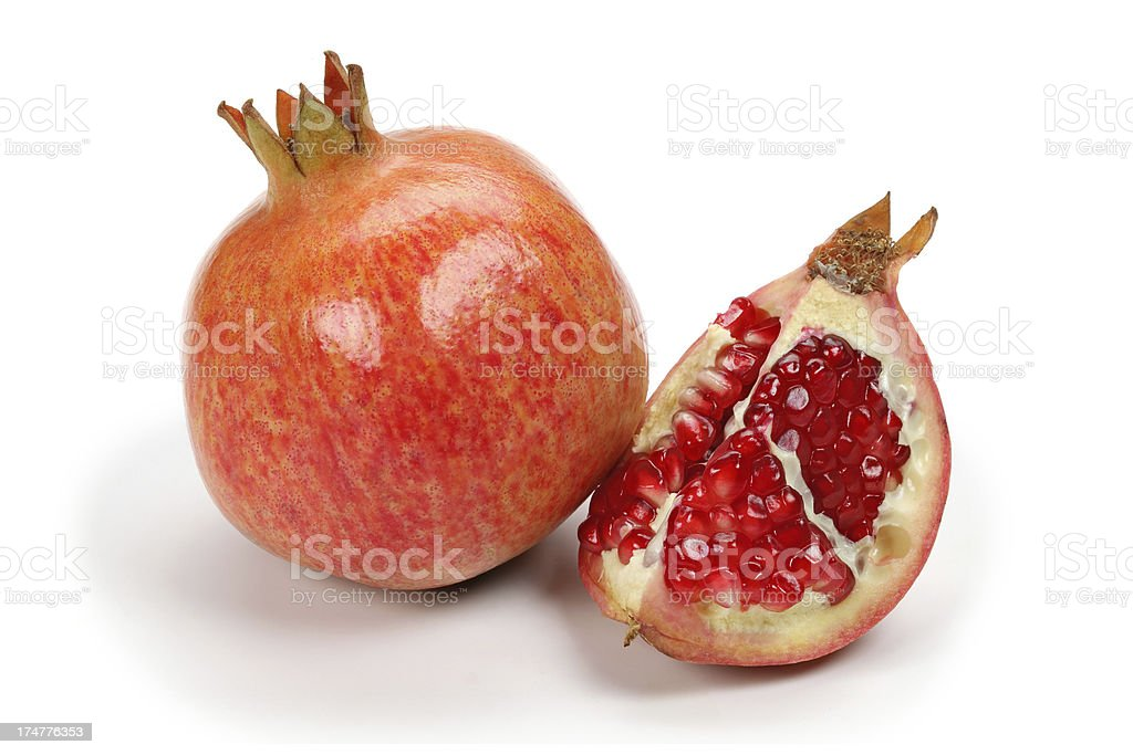 Sweet pomegranate royalty-free stock photo