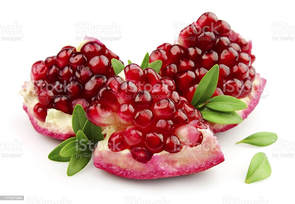 Sweet pomegranate stock photo
