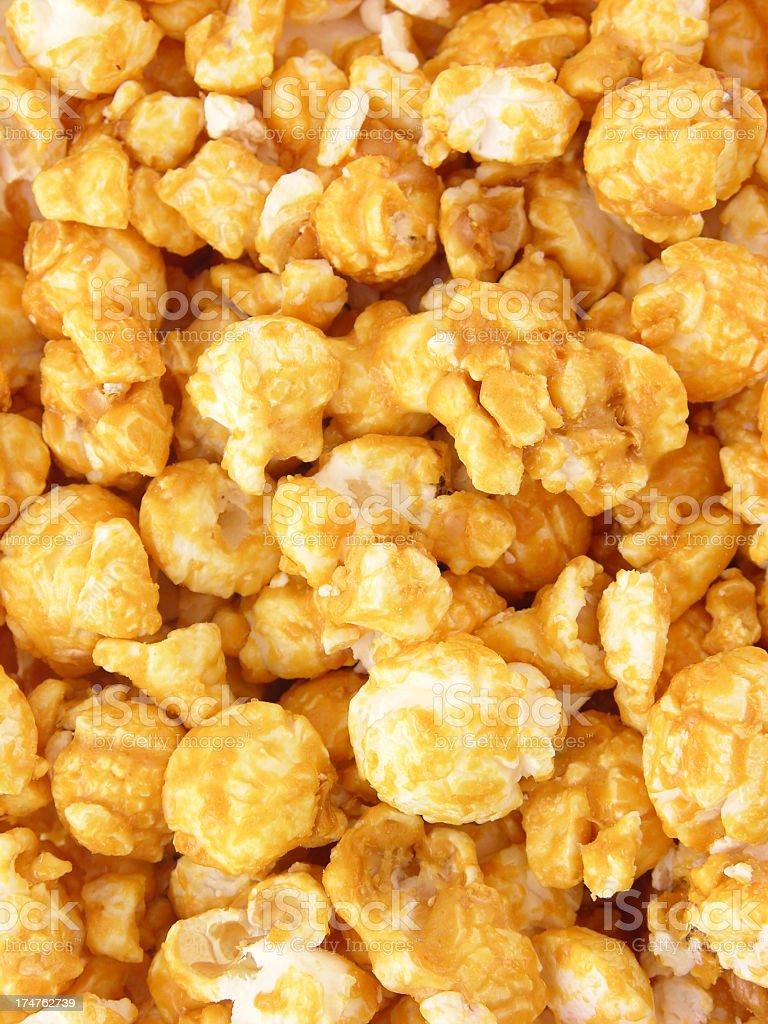 Sweet popcorn background royalty-free stock photo