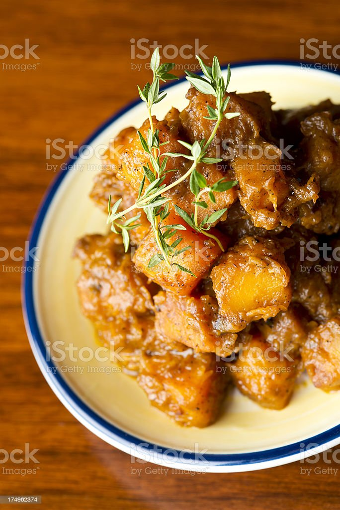 Sweet Potato Dish royalty-free stock photo
