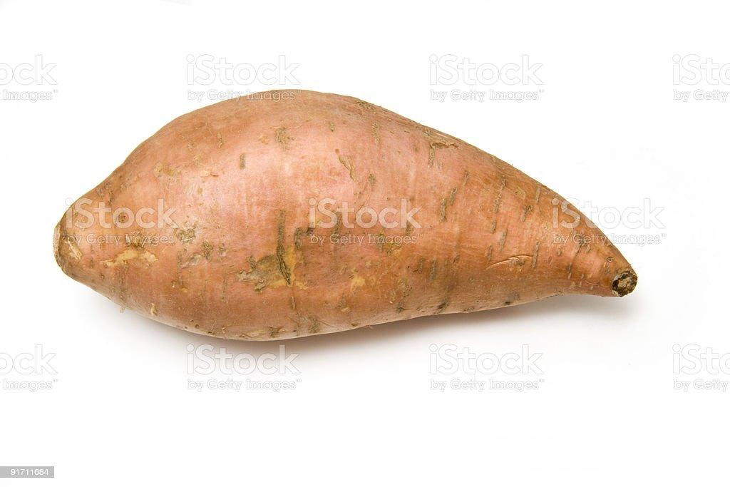 Sweet Potato isolated. stock photo