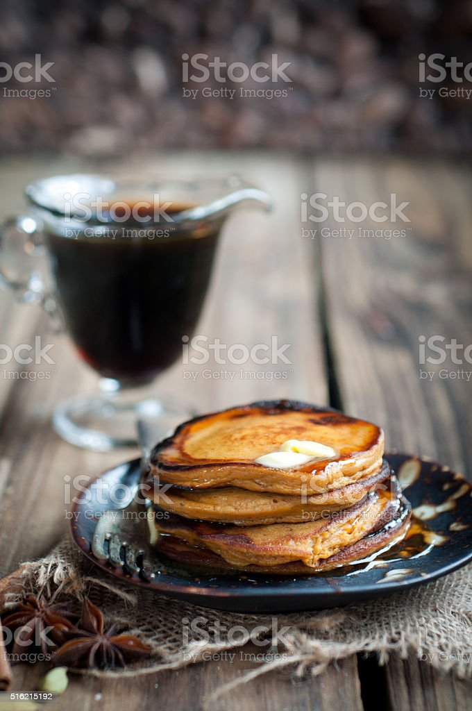 Sweet Potato Pancakes stock photo