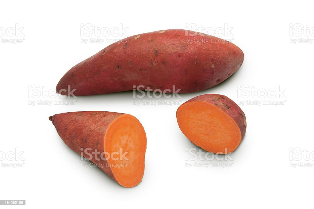Sweet potato yam royalty-free stock photo