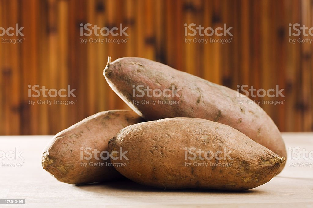 Sweet Potatoes Hz royalty-free stock photo