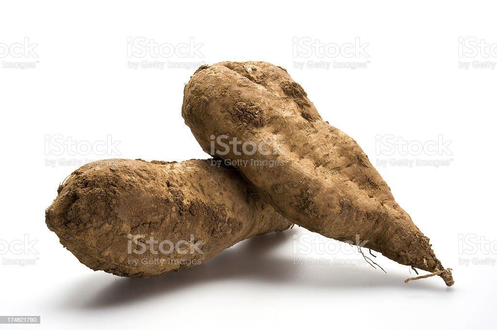 Sweet potatoes royalty-free stock photo