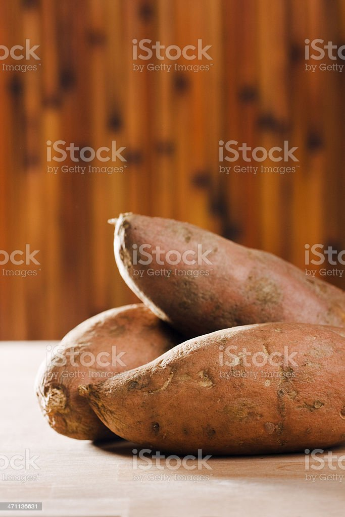 Sweet Potatoes Vt royalty-free stock photo