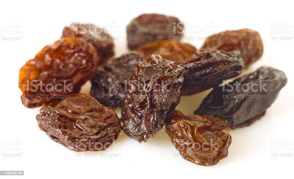 sweet raisins stock photo