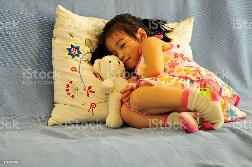 sweet rest royalty-free stock photo