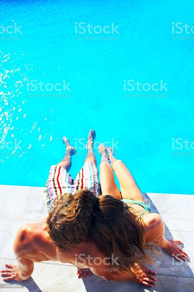 Sweet romance stock photo