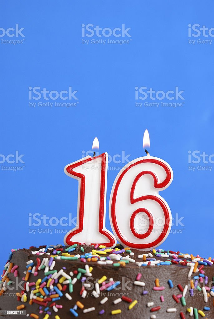 Sweet Sixteen stock photo