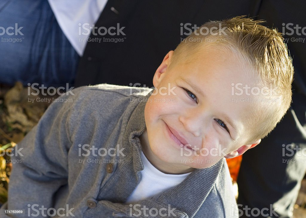 sweet smile from a cute little boy royalty-free stock photo