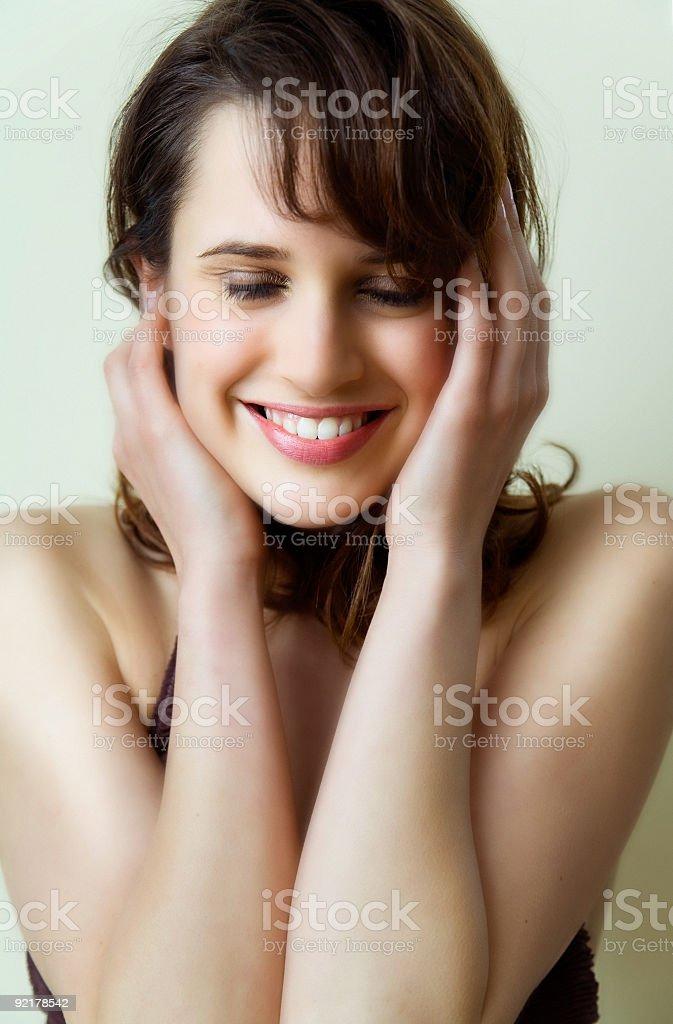 Sweet Smile stock photo
