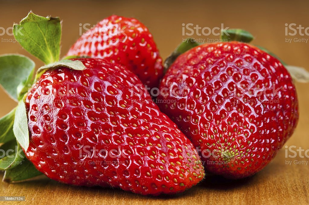 sweet strawberries royalty-free stock photo