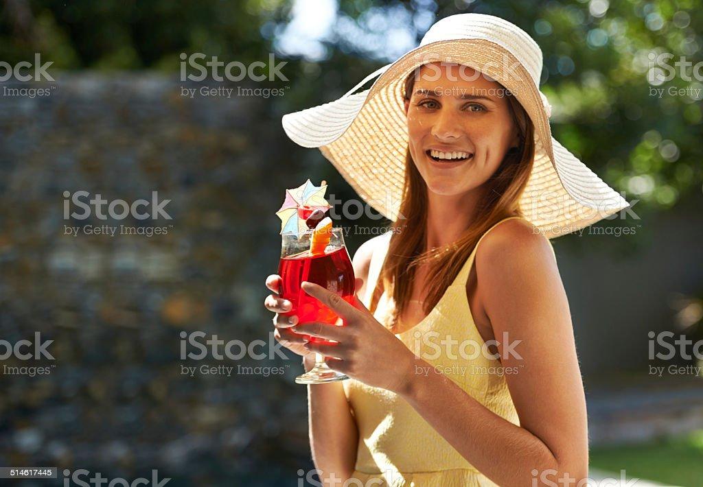 Sweet summer sensations! stock photo