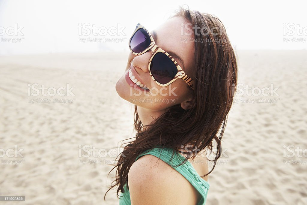 Sweet summer smile royalty-free stock photo