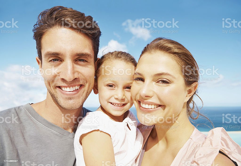 Sweet summer smiles royalty-free stock photo