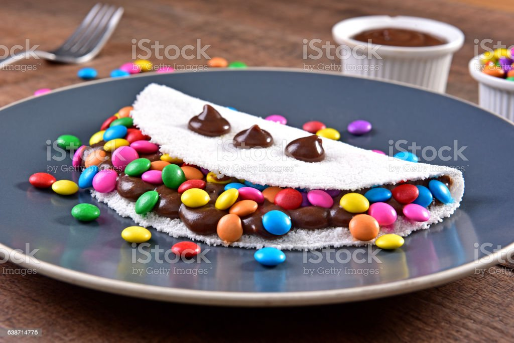 Sweet tapioca stock photo