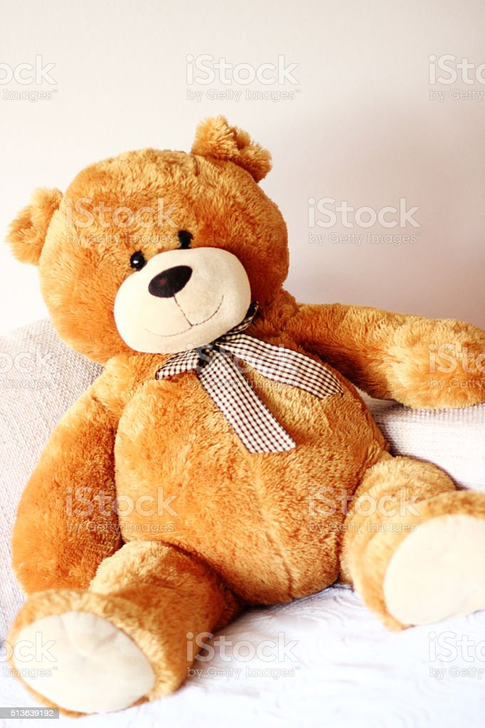 Sweet Teddy Bear stock photo