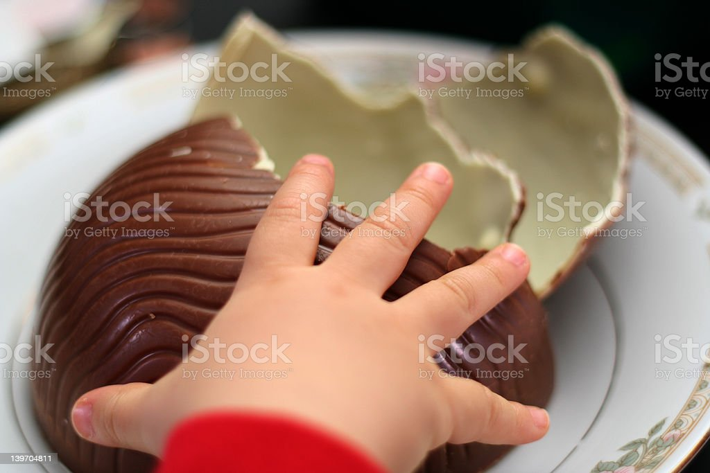 sweet tooth baby royalty-free stock photo