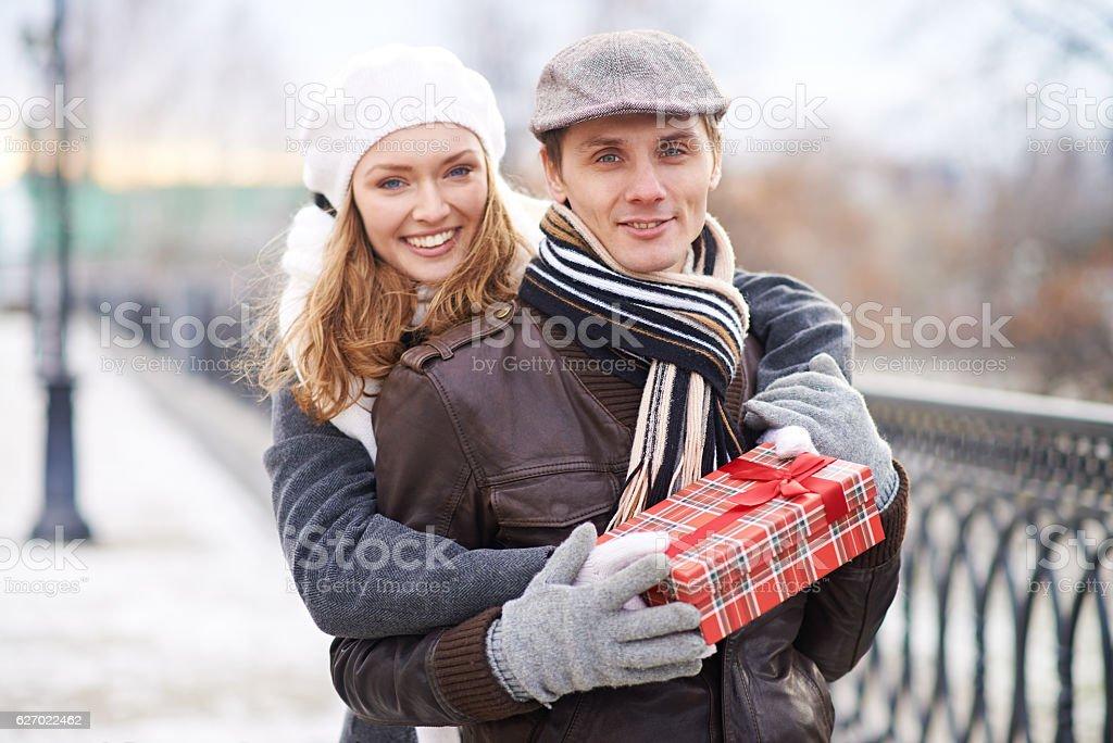 Sweet Valentine's Day stock photo