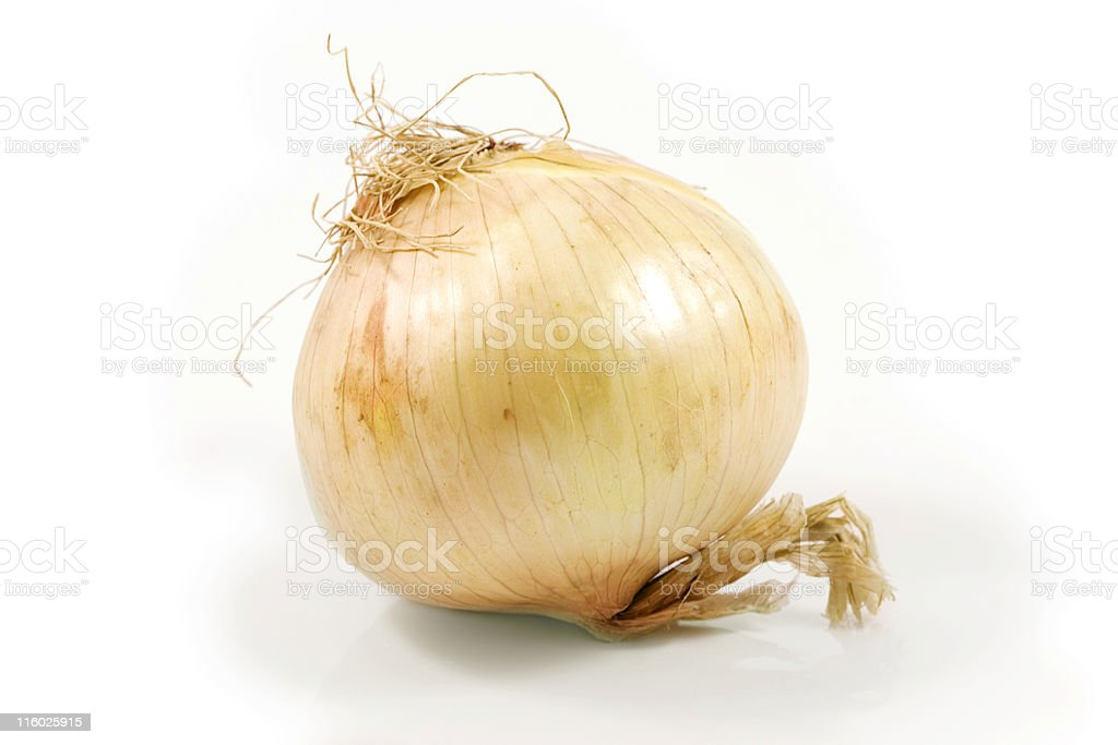 Sweet Vidalia onion stock photo