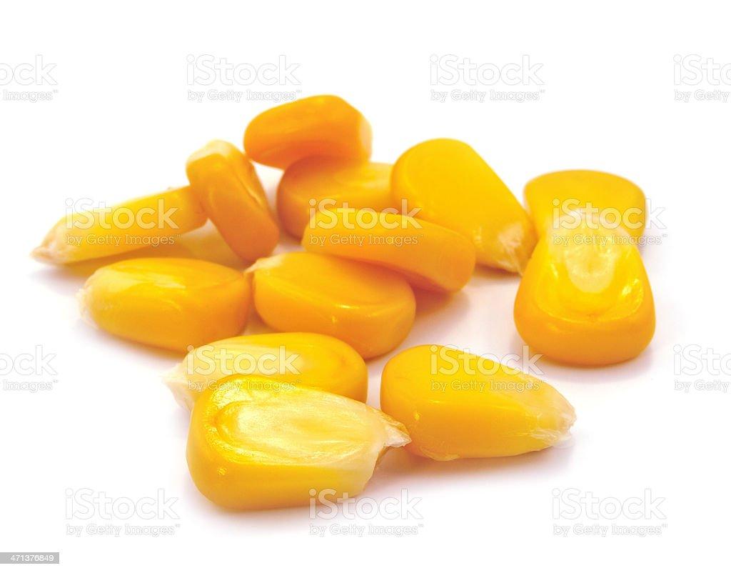 Sweet whole kernel corn royalty-free stock photo