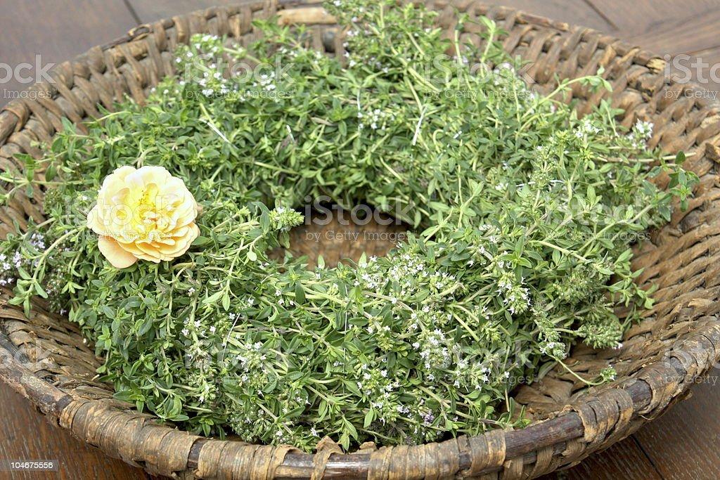 Sweet Couronne florale photo libre de droits