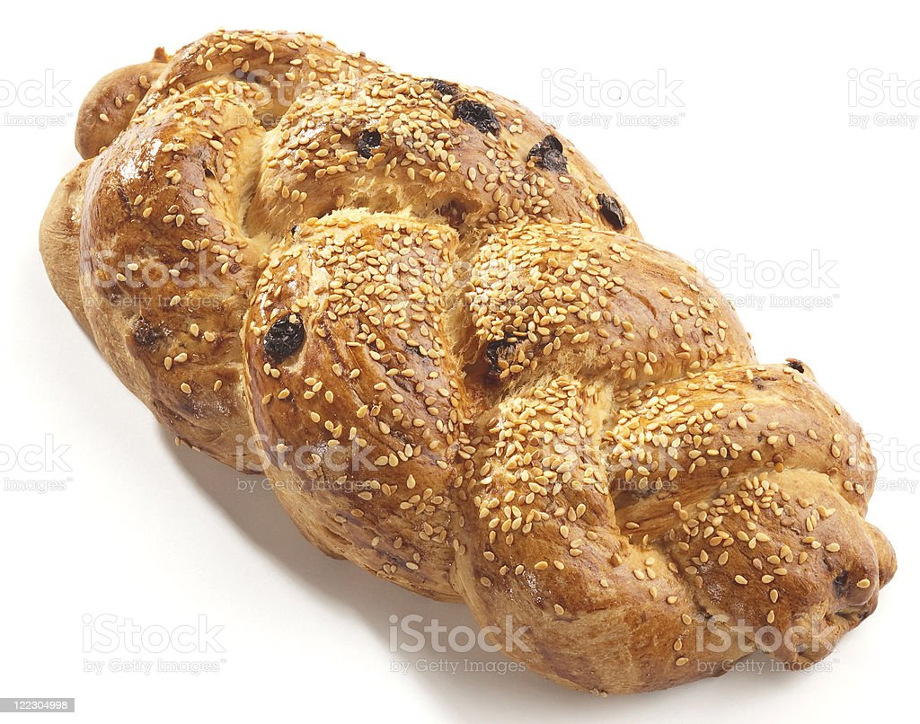 sweet yeast bread royalty-free stock photo
