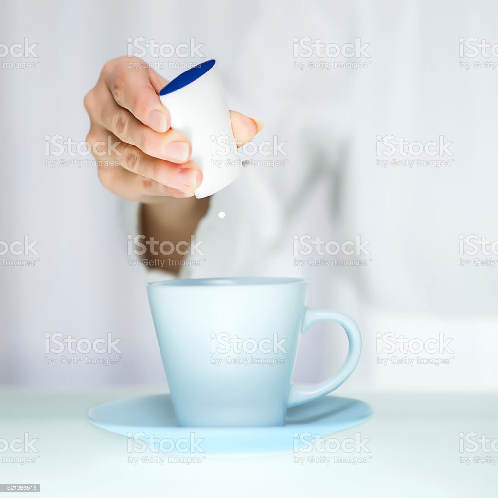 Sweetener stock photo