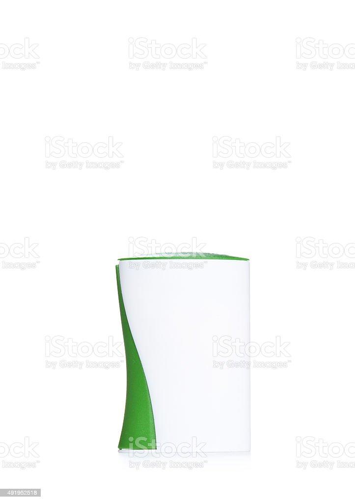 Sweetener tablet dispenser stock photo