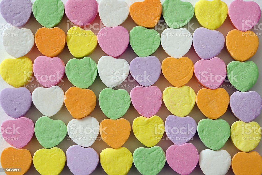 Sweethearts Pattern royalty-free stock photo