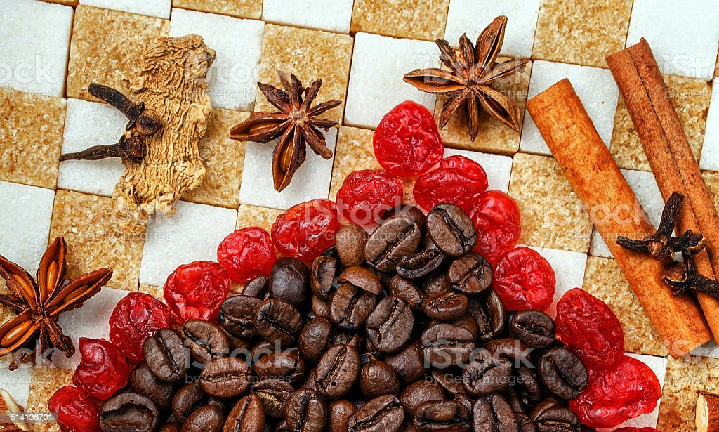 Sweets and Spices stock photo