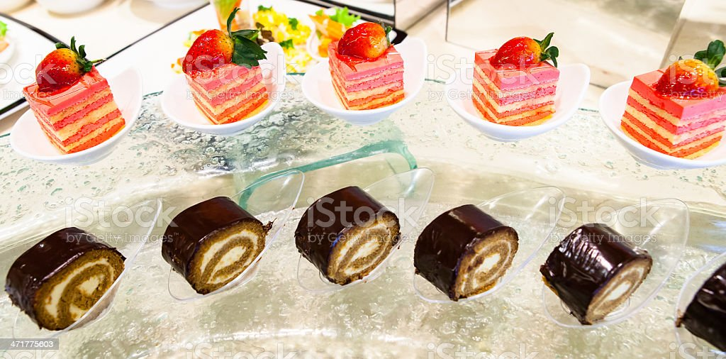 Sweets Cattering. royalty-free stock photo