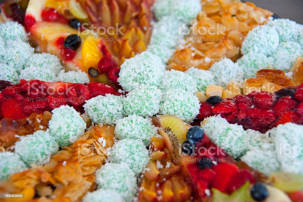 sweets cocos and cake royalty-free stock photo