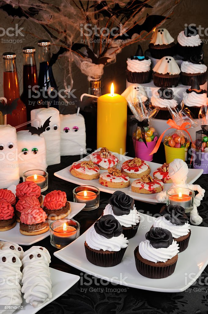 Sweets for Halloween stock photo