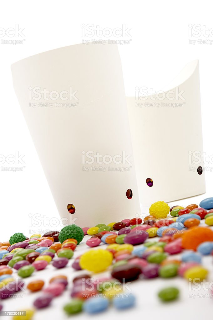 Sweets mixed selection royalty-free stock photo