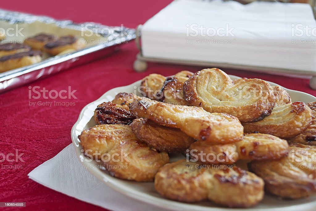 sweets on red royalty-free stock photo