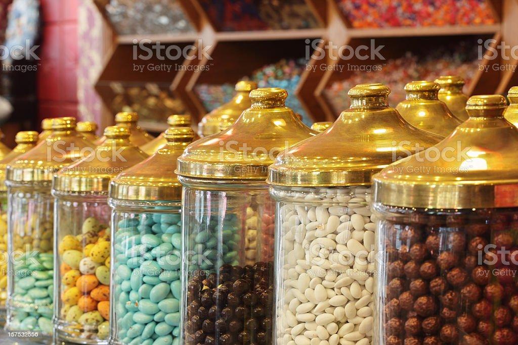 Sweetshop stock photo